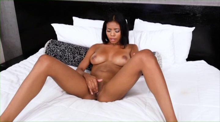 Teeny Black Chicks Trying White Dicks 16