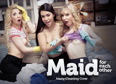 GirlsWay – Kenzie Reeves, Alina Lopez, Mackenzie Moss – Nasty Cleaning Crew