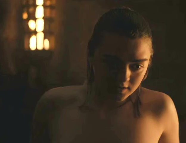 Maisie Williams Nude – Game of Thrones (HD)