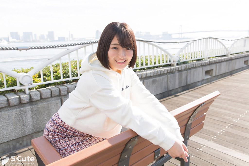 CENSORED S-Cute 683_rei_02 夕日に染まる制服エッチ/Rei, AV Censored
